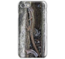 lizard on the river iPhone Case/Skin