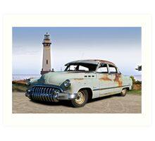 1950 Buick Special 'Survivor' Art Print