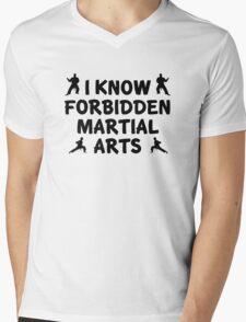 I Know Forbidden Martial Arts Mens V-Neck T-Shirt