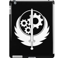 B.O.S. White iPad Case/Skin