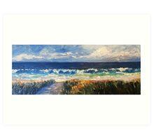 Boomer surf Art Print