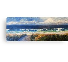Boomer surf Canvas Print