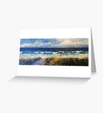 Boomer surf Greeting Card