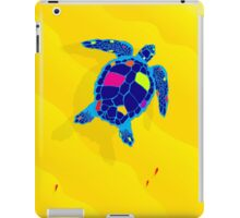 Paper Craft Sea Turtle iPad Case/Skin