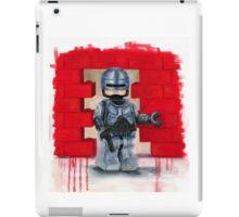 Robocop Lego Style iPad Case/Skin