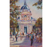 Place de la Sorbonne, Paris Photographic Print
