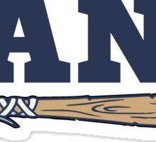Believe Land Cleveland Baseball Sticker
