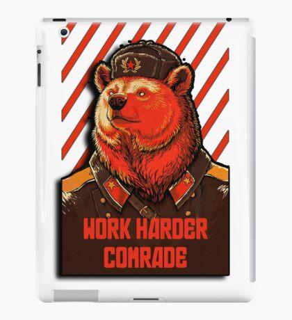 Vote Soviet bear - russian bear meme iPad Case/Skin