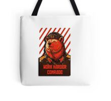 Vote Soviet bear - russian bear meme Tote Bag