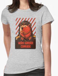Vote Soviet bear - russian bear meme Womens Fitted T-Shirt