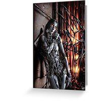 Cyberpunk Painting 036 Greeting Card