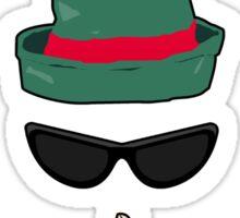 Undercover Elf Sticker