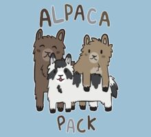 Alpaca Pack Kids Tee