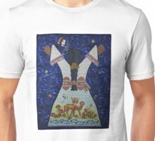 Chicana Goddess in the Bosque Unisex T-Shirt