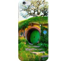 Bag End at Hobbiton - New Zealand iPhone Case/Skin