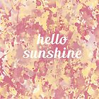Hello sunshine by AnnaGo