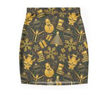 Festive Christmas Pattern Mini Skirt