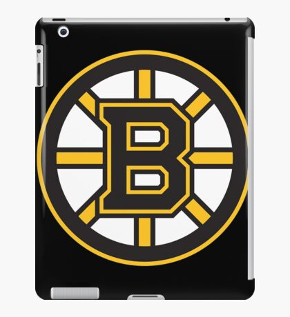 Boston Bruins iPad Case/Skin