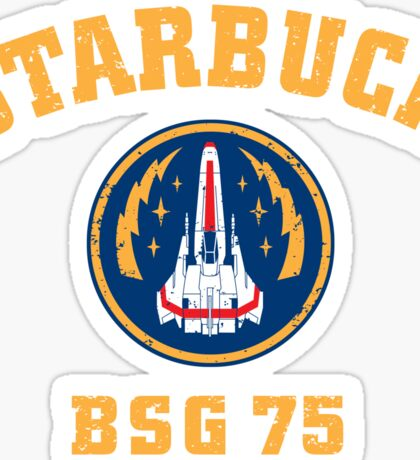 Starbuck Sticker