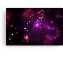 Purple cosmos Canvas Print
