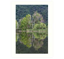 landscape lake Art Print