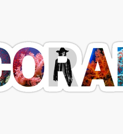 Coral Sticker