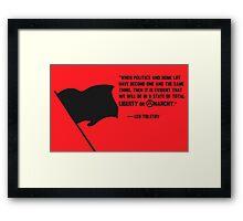 Total Anarchy Framed Print