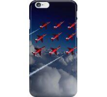 Red Arrows Diamond 9  iPhone Case/Skin