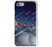 Red Arrows Diamond 9  iPhone Case/Skin
