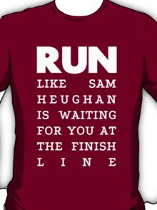RUN - Sam Heughan 2 T-Shirt