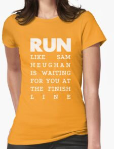 RUN - Sam Heughan 2 Womens Fitted T-Shirt