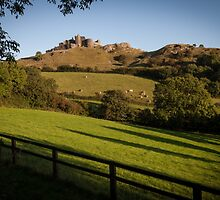 Carreg Cennen castle by leightoncollins