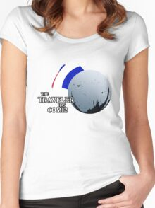 The Traveller Has Come! Women's Fitted Scoop T-Shirt