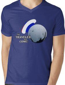 The Traveller Has Come! Mens V-Neck T-Shirt