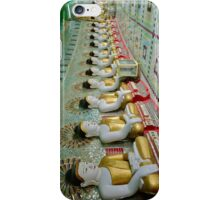 sitting Buddhas in Umin Thonze Pagoda iPhone Case/Skin