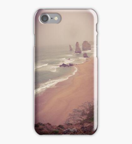 Twelve Apostles in the mist iPhone Case/Skin