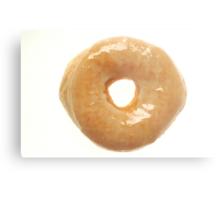Glazed Donut Metal Print