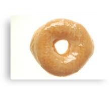 Glazed Donut Canvas Print