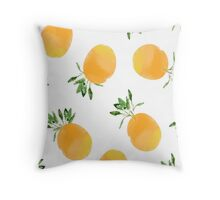 Citrus celebrations Throw Pillow
