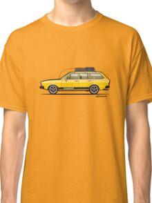 Yellow VDub Dasher (1973) Classic T-Shirt