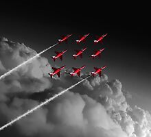 Red Arrows Diamond 9 - Pop by J Biggadike