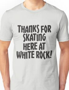 WRSC Skating at White Rock Unisex T-Shirt
