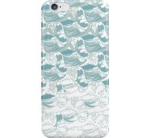 Big blue wave iPhone Case/Skin