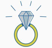 diamond ring Kids Tee