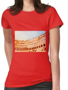 COLISEUM, ROME, ITALY - NESCI Womens Fitted T-Shirt