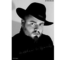Matthew L Sparks Official Headshot Photographic Print