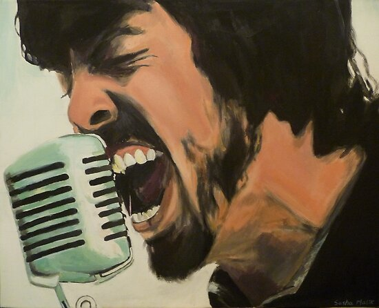 Dave Grohl by SMalik