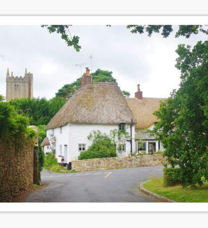 Thatched Cottage Sticker
