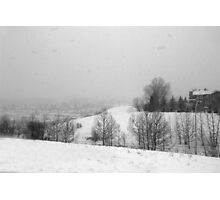 Snowstorm January 2014 Photographic Print