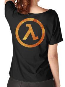 Lambda Symbol Women's Relaxed Fit T-Shirt